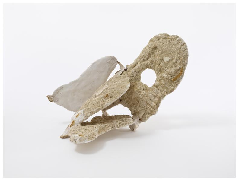 Jackson Pollock, Untitled, 1956, Plaster, sand, gauze, and wire 12 1/4 x 12 x 17