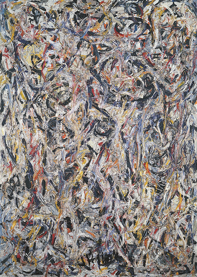 Jackson Pollock, Earth Worms, 1946 (Tel Aviv Museum of Art Collection, gift of P