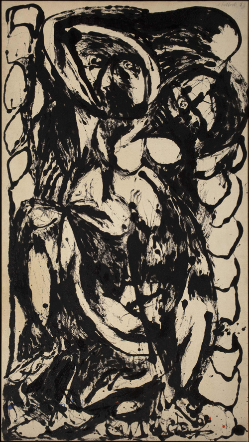 Jackson Pollock. Number 5, 1952 (© The Pollock-Krasner Foundation ARS, NY and DA