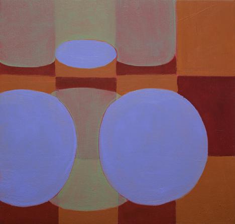 Ravenna Taylor, Dissolution, 2011, 11.25 x 11.75 inches, oil, linen, wood