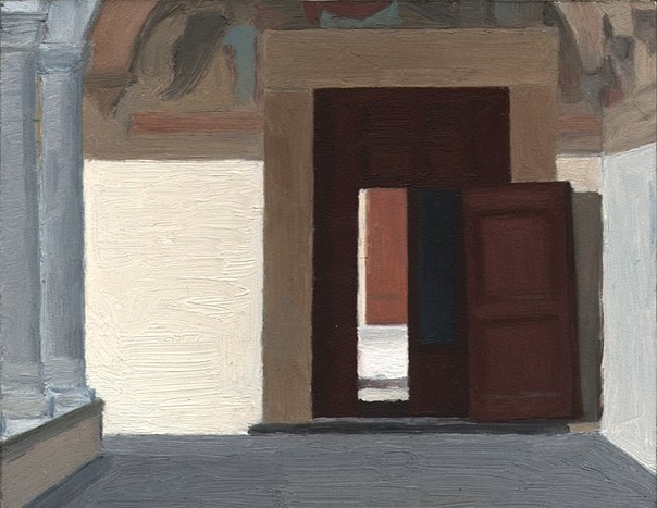 Eleanor Ray, San Marco, 2013, oil on panel, 5 7/16 x 6 15/16 inches (courtesy of