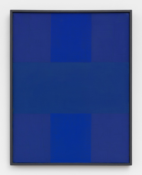 Ad Reinhardt, Abstract Painting, Blue, 1952, oil on canvas, 18 × 14 inches (Private Collection © 2017 Estate of Ad Reinhardt/ Artists Rights Society (ARS), New York. Courtesy David Zwirner, New York/London)