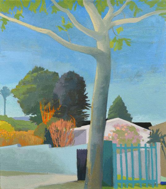 Celia Reisman, Glendale, oil on canvas, 18 x 16 inches, 2014 (courtesy of the ar