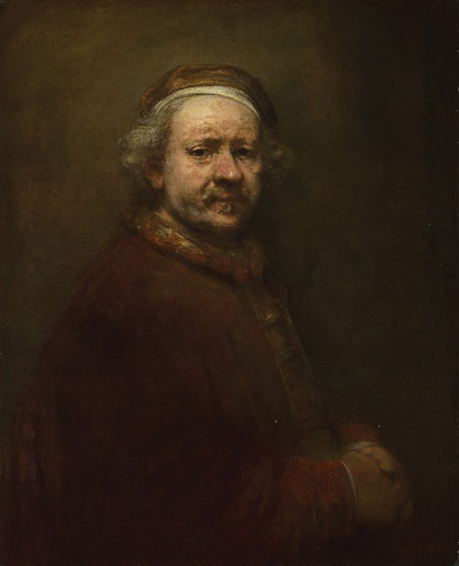 Rembrandt, Self-Portrait at the Age of 63, 1669 (National Gallery, London)