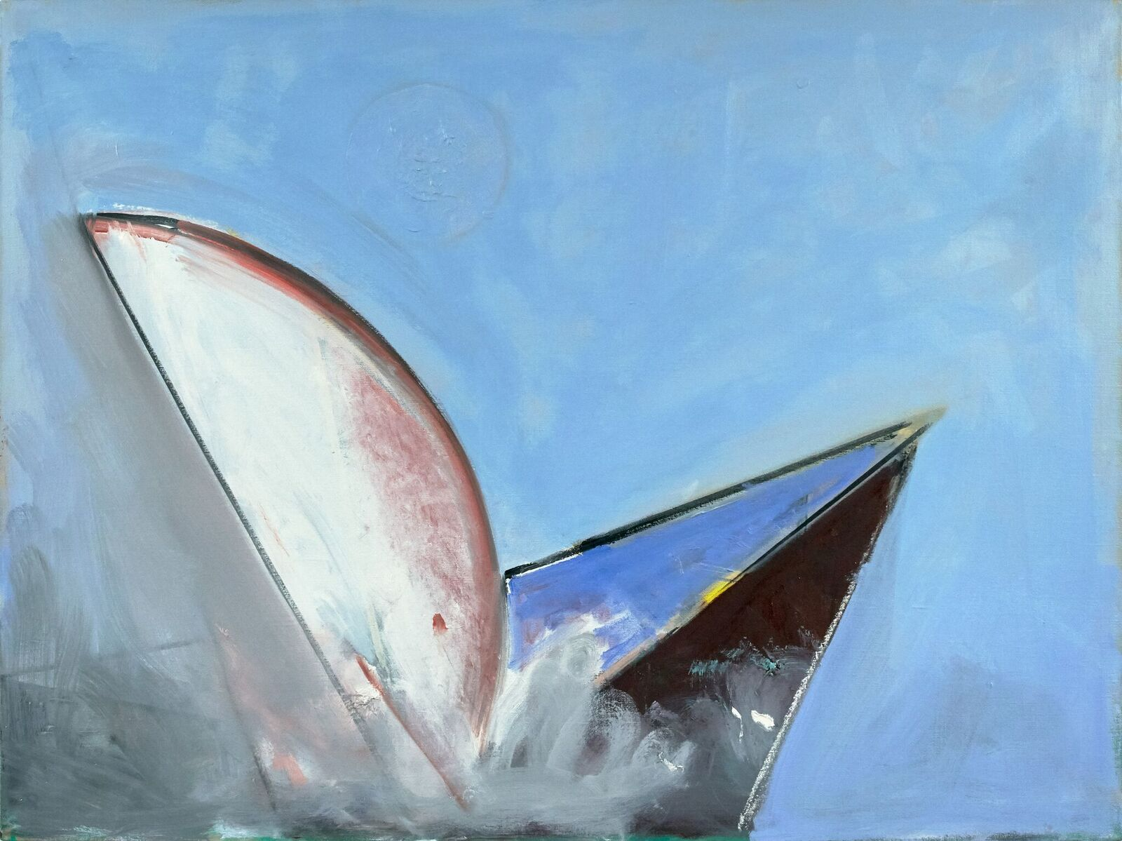 Paul Resika, Moby Dick, 2017, oil on canvas (© Paul Resika, courtesy of Steven Harvey Fine Art Projects)