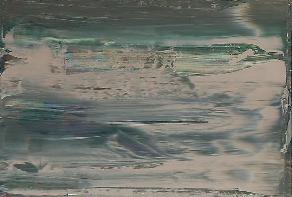 Gerhard Richter, Abstract Painting (894-11), 2005, 11 3/4 X 17 3/8 IN. ( 30 X 44
