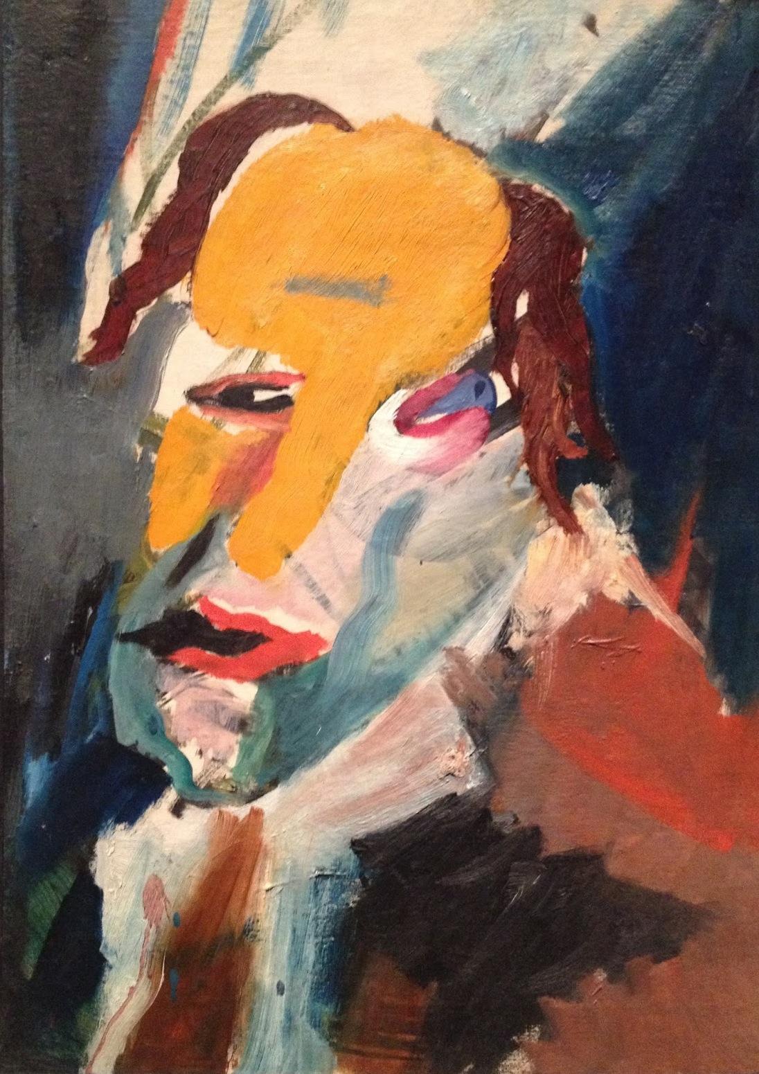 Hans Richter Visionary Portraits Painters Table