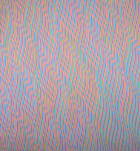 Bridget Riley, Andante 1, 1980 (© 2015 Bridget Riley. All rights reserved, court