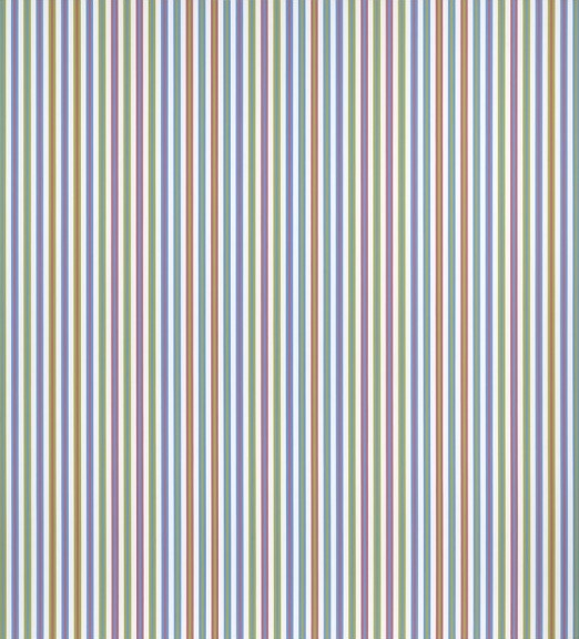 Bridget Riley, Elysium, 2003/1973, acrylic on linen, 102 3/4 x 92 7/8 inches (co