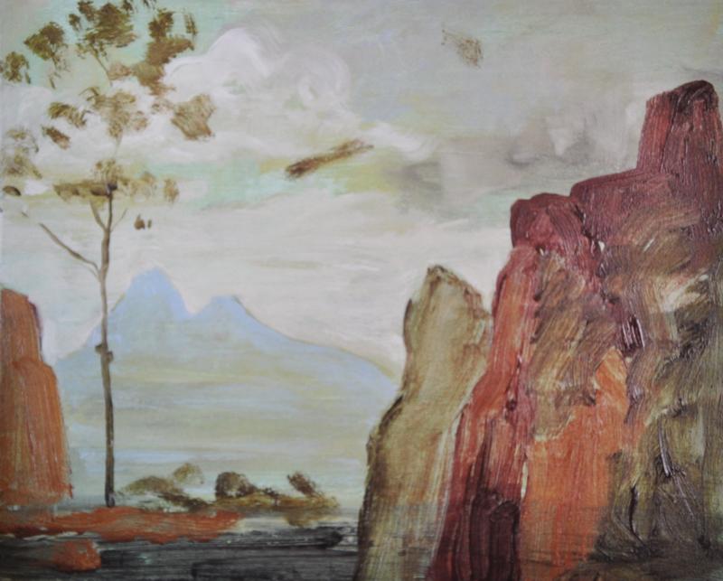 Robert Armstrong, A Landscape, 2007 (courtesy Kavanagh Gallery)