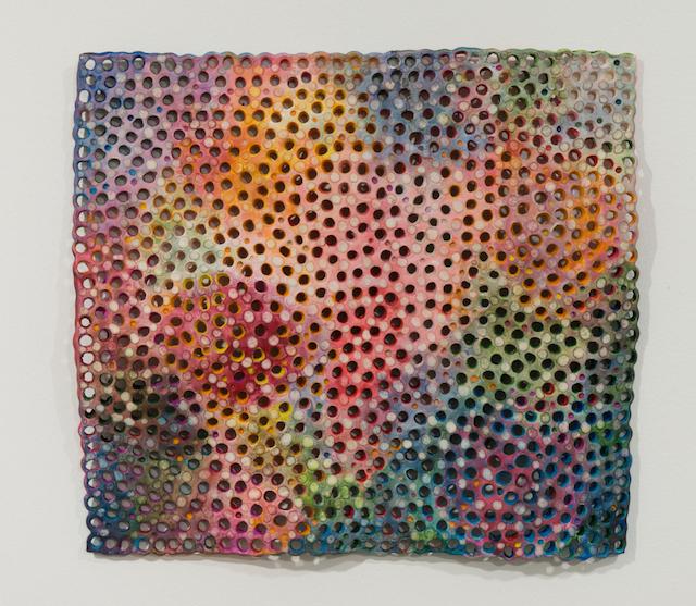 Joyce Robins, Topographic Rectangle #3, 2014 (courtesy of THEODORE:Art)