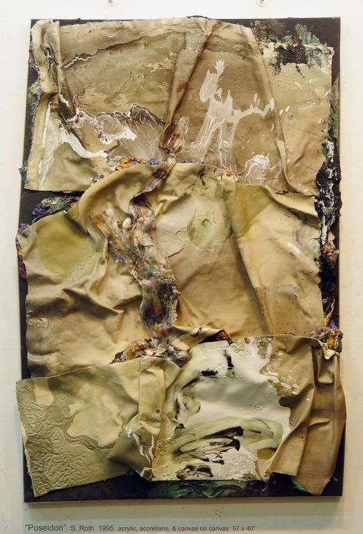 Susan Roth, Poseidon, 1995, 57 x 40 inches (courtesy of the artist)