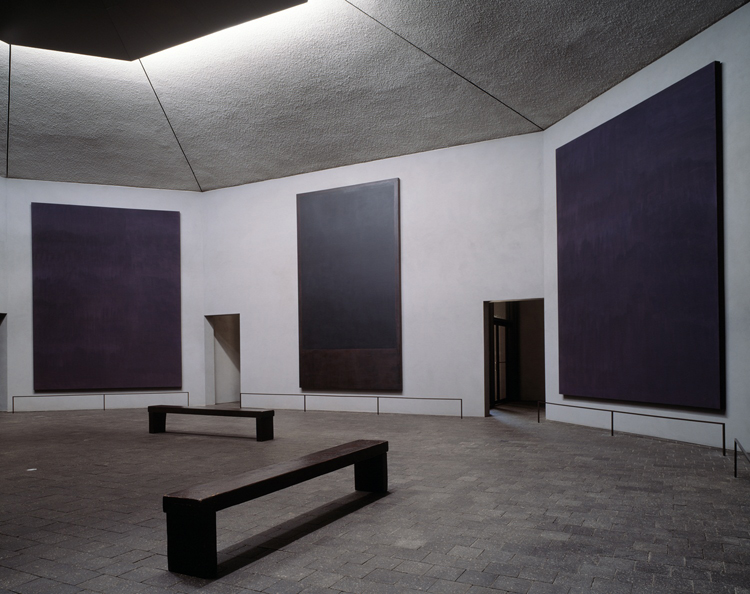 View of the Rothko Chapel, Houston, Texas (photo by Hickey-Robertson, courtesy o