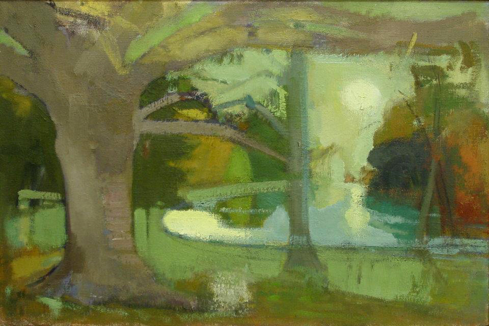 Ruth Miller, Place Revisited - Light on Lake, 2010 (courtesy Lohin Geduld Galler