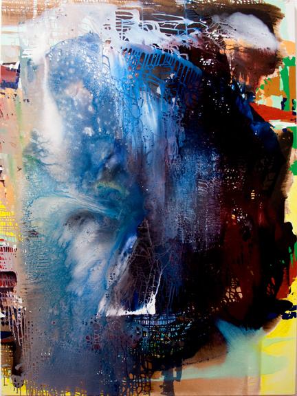 Jackie Saccoccio, Portrait: Beast, 2013, 106 x 79 inches (courtesy the artist an