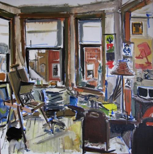 Dmitry Samarov, The Mess I've Made, 2010, Oil on linen