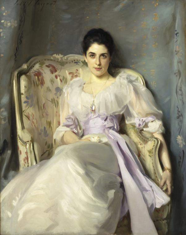 John Singer Sargent, Lady Agnew of Lochnaw, 1892, oil on canvas, 49 1/2 x 39 1/2