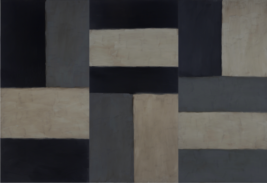 Sean Scully, Doric Athena, 2011 © Sean Scully/Neo Neo Inc.
