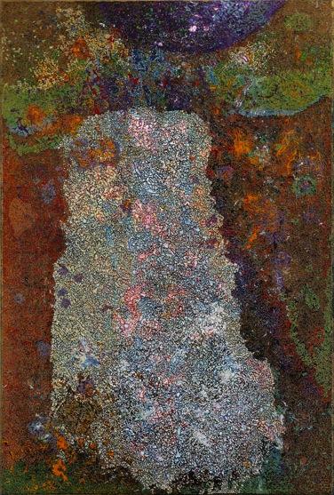 Charles Seliger, Runic Veil, 1989 (courtesy Michael Rosenfeld Gallery)