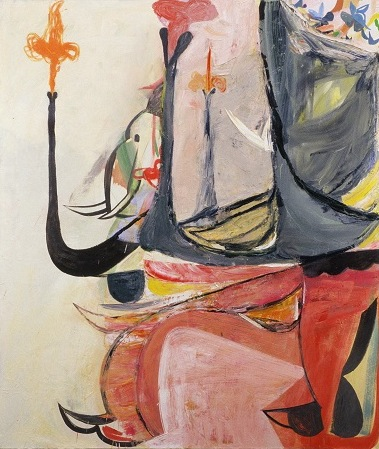 Amy Sillman, Elephant, 2005 (collection Nerman Museum of Contemporary Art, Johns