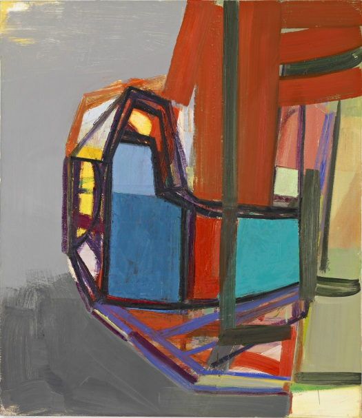 Amy Sillman, L, 2007 (collection of the Harvard Art Museums)