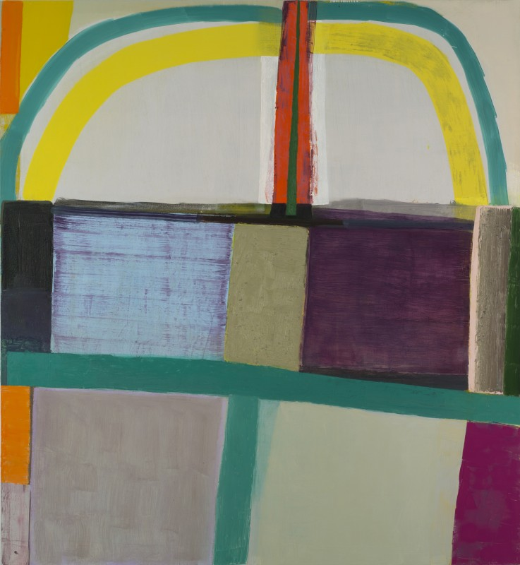 Amy Sillman, Mother, oil on canvas, 92 x 84inches, 2013-2014 (courtesy of the ar