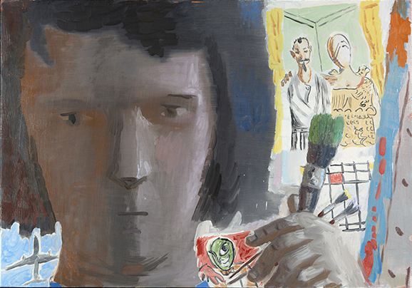 Elena Sisto, 21, 076, 2011, Oil on canvas, 60 x 54 inches (courtesy of the artis