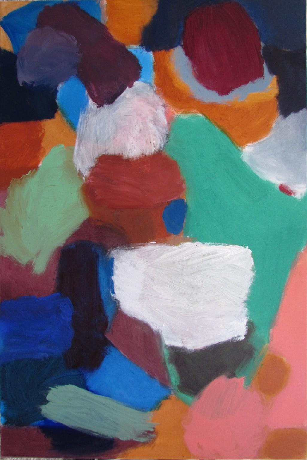 Hilde Skilton, Brancaster Bunch, 2013, oil on canvas, 120 x 80 cm (courtesy of t