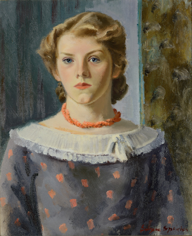 Eugene Speicher, Girl in a Coral Necklace (Joyce), 1935 (Collection of Arthur A.