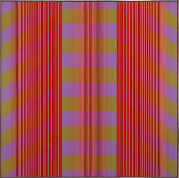 Julian Stanczak, Trespassing Light, 1970 (© Julian Stanczak, courtesy of the artist and Mitchell-Innes & Nash)
