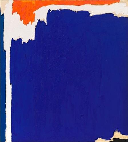 Clyfford Still, PH-131, 1951, oil on canvas, 117 x 105 inches (© Clyfford Still