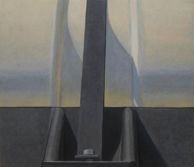 Altoon Sultan, Black and White, 2012, 6 1/4 x 7 1/4 inches (courtesy of the arti