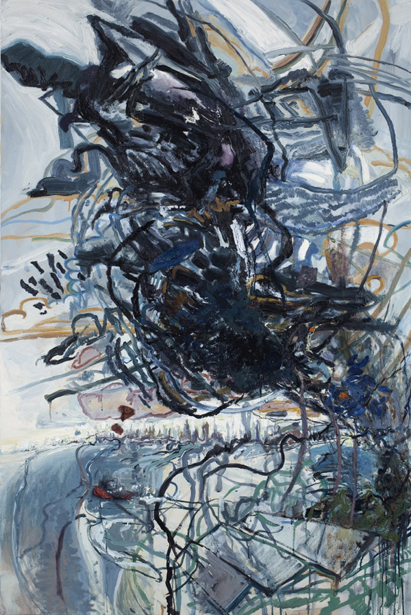 Susanna Heller, Taratoma Cloud, 2011, 60 × 40 inches, oil on canvas