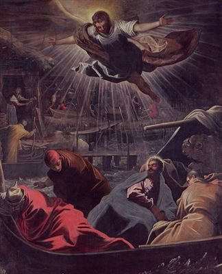 Tintoretto, The Dream of St. Mark, oil on canvas, 1585 (Gallerie dell'Accademia,