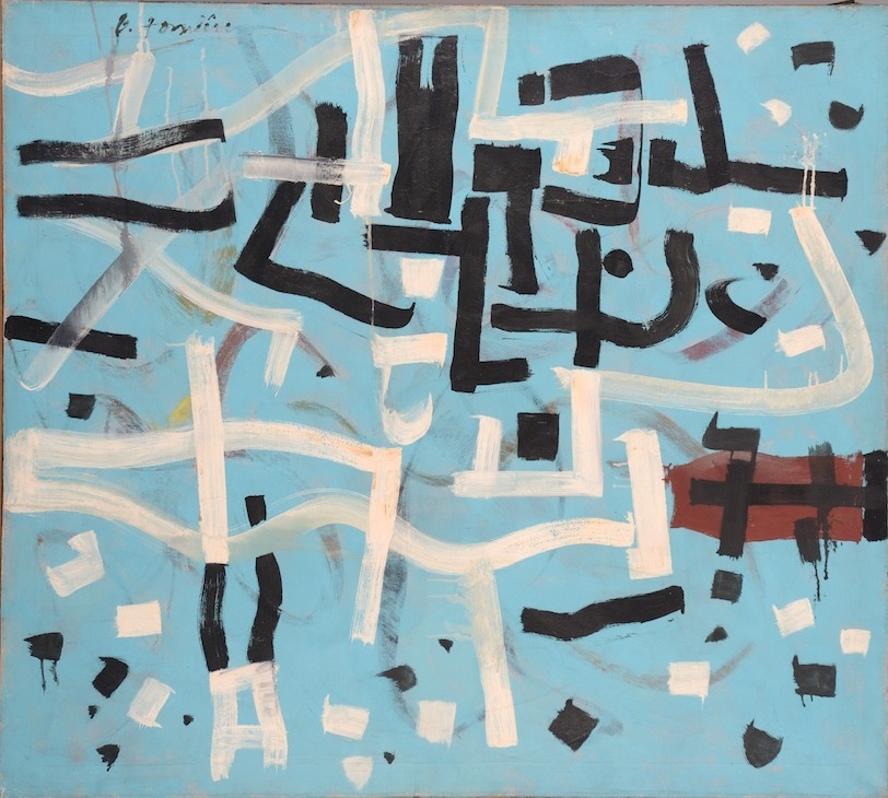 Bradley Walker Tomlin, Number 8, 1949, oil on canvas (Private Collection, courtesy of Manny Silverman Gallery)