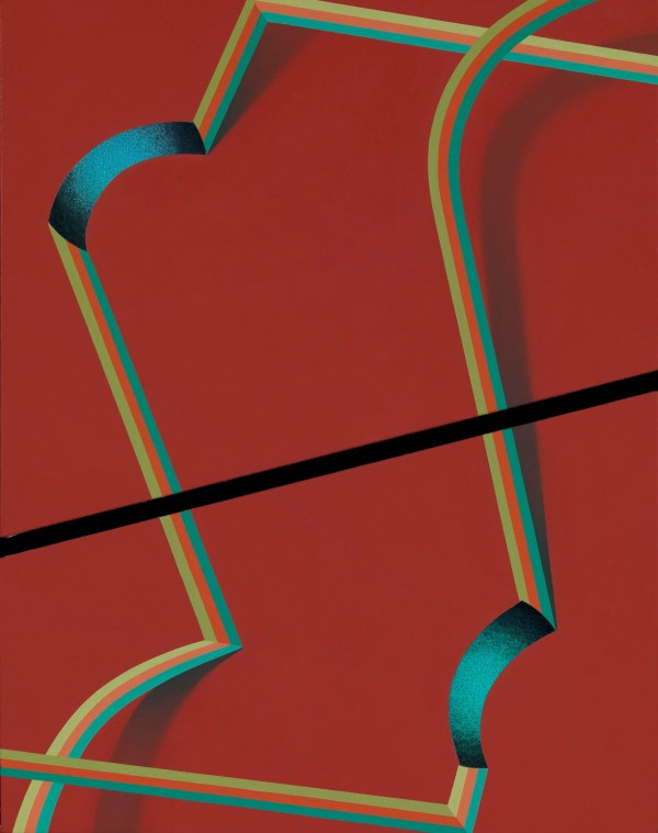 Tomma Abts, Hepe, 2011, courtesy greengrasi, London (source: Kunsthalle, Dusseld