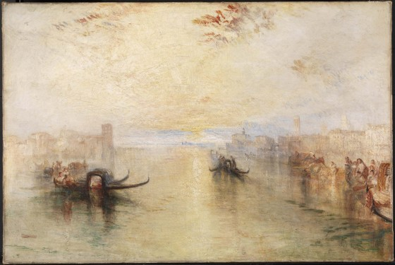 Joseph Mallord William Turner, St Benedetto looking towards Fusina, oil paint on