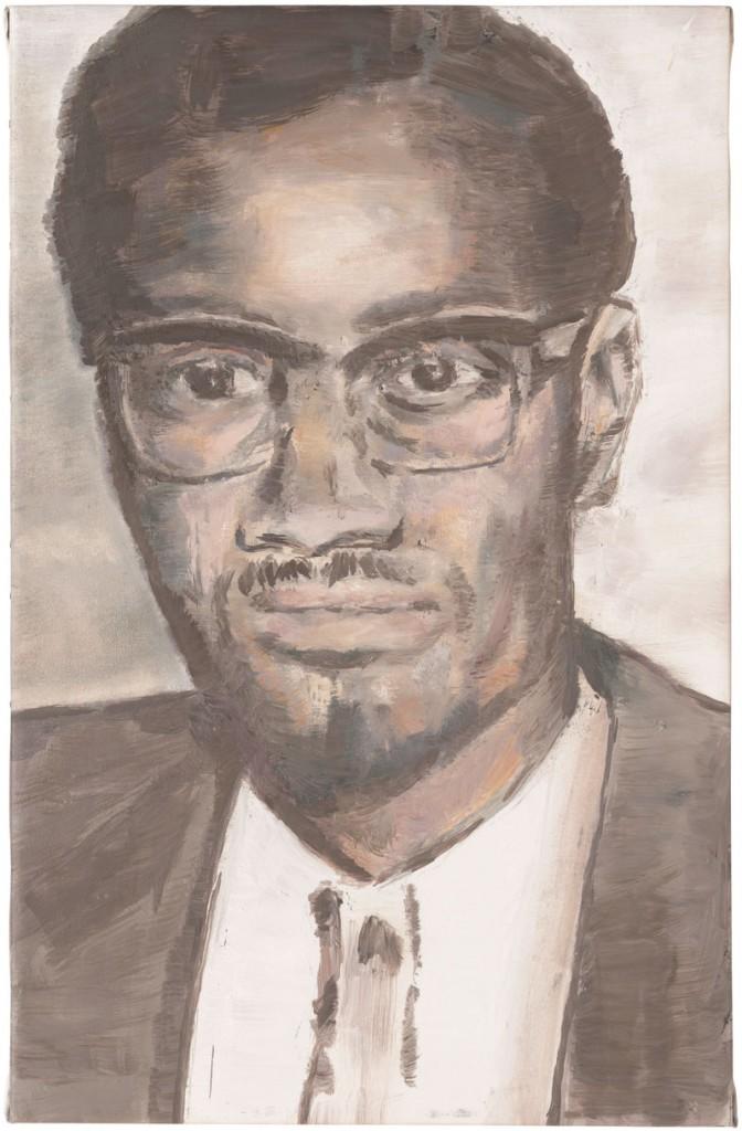 Luc Tuymans, Lumumba, 2000 (courtesy of the artist)