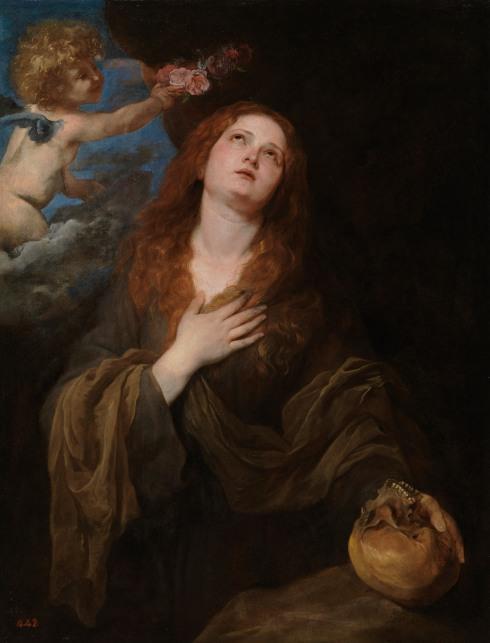 Sir Anthony Van Dyck, Saint Rosalia, c. 1625 (courtesy of Museo Nacional del Pra