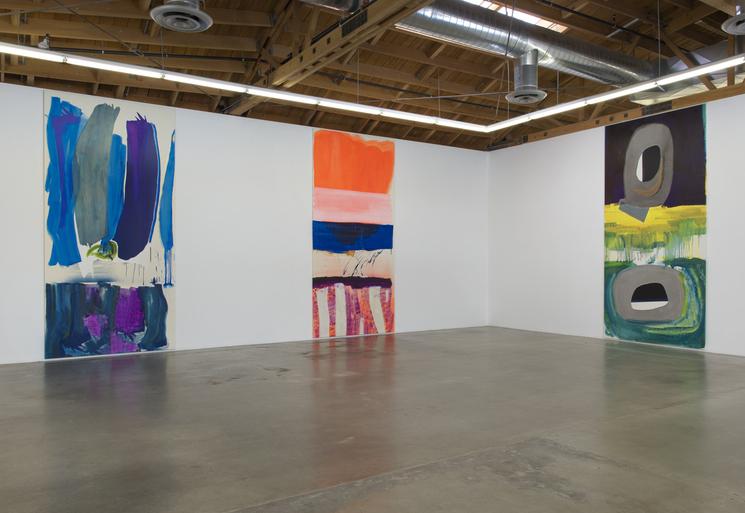 Installation view, Monique van Genderen, Manufactured Paintings at Susanne Vielm
