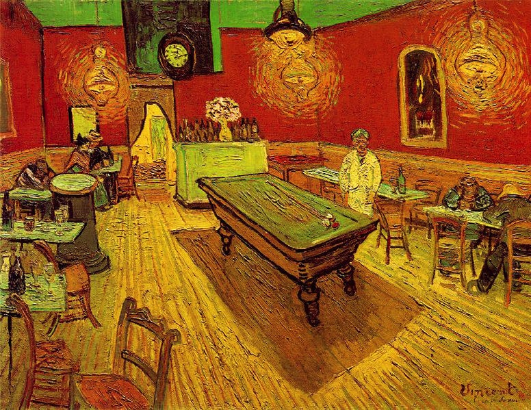 Vincent van Gogh, 1888, oil on canvas, 28.5 × 36.3 inches (Yale University Art G