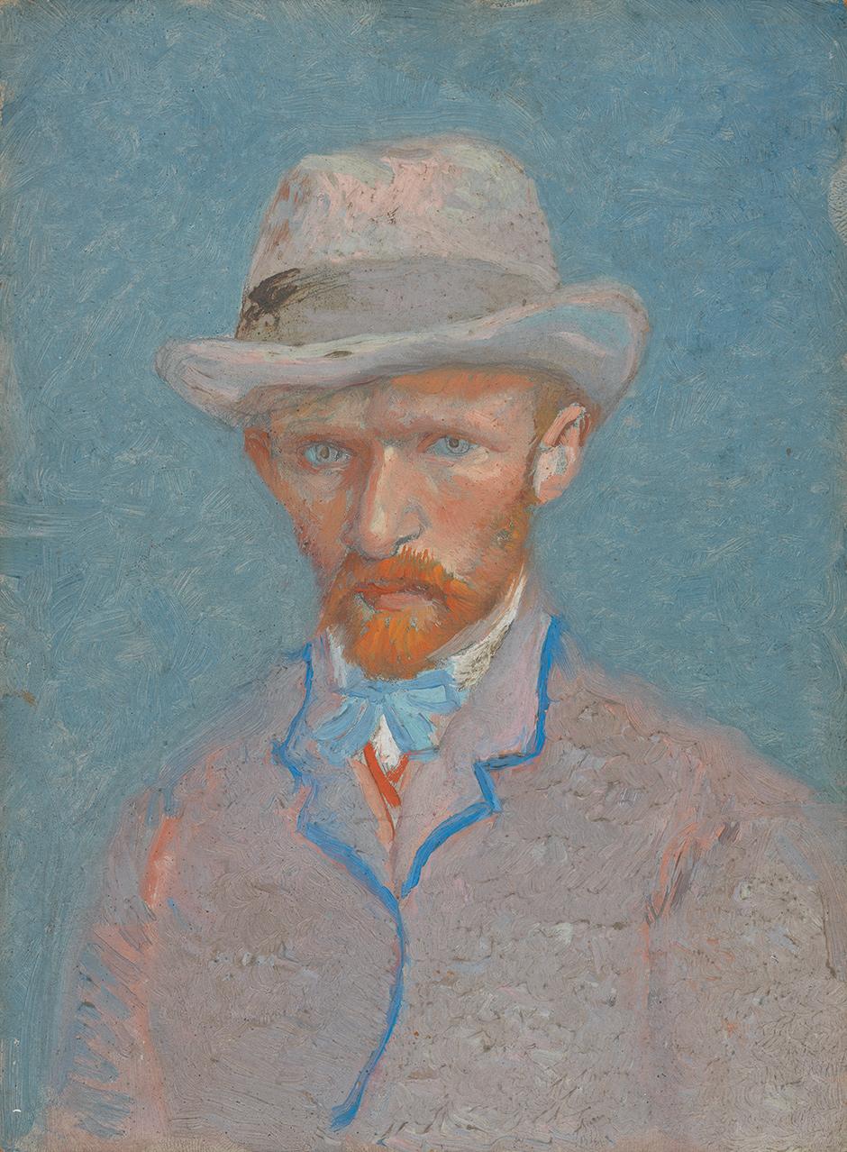 Vincent van Gogh: Self-Portrait, summer 1887 (Van Gogh Museum, Amsterdam/Vincent