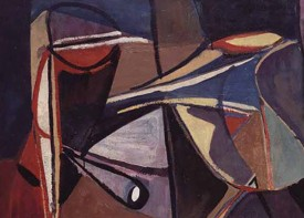 Bram van Velde, Untitled (Montrouge), 1947, oil on canvas, 144.5 x 113 cm (© Artists Rights Agency (ARS), New York/ADAGP, Paris, 2016)