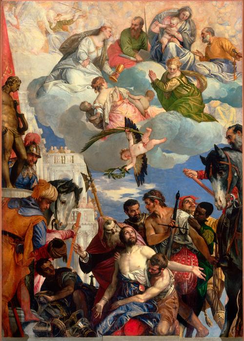 Paolo Veronese, Martyrdom of Saint George, c.1565, Chiesa di San Giorgio in Brai