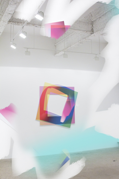 Installation View, Artie Vierkant at Higher Pictures (courtesy of Higher Picture