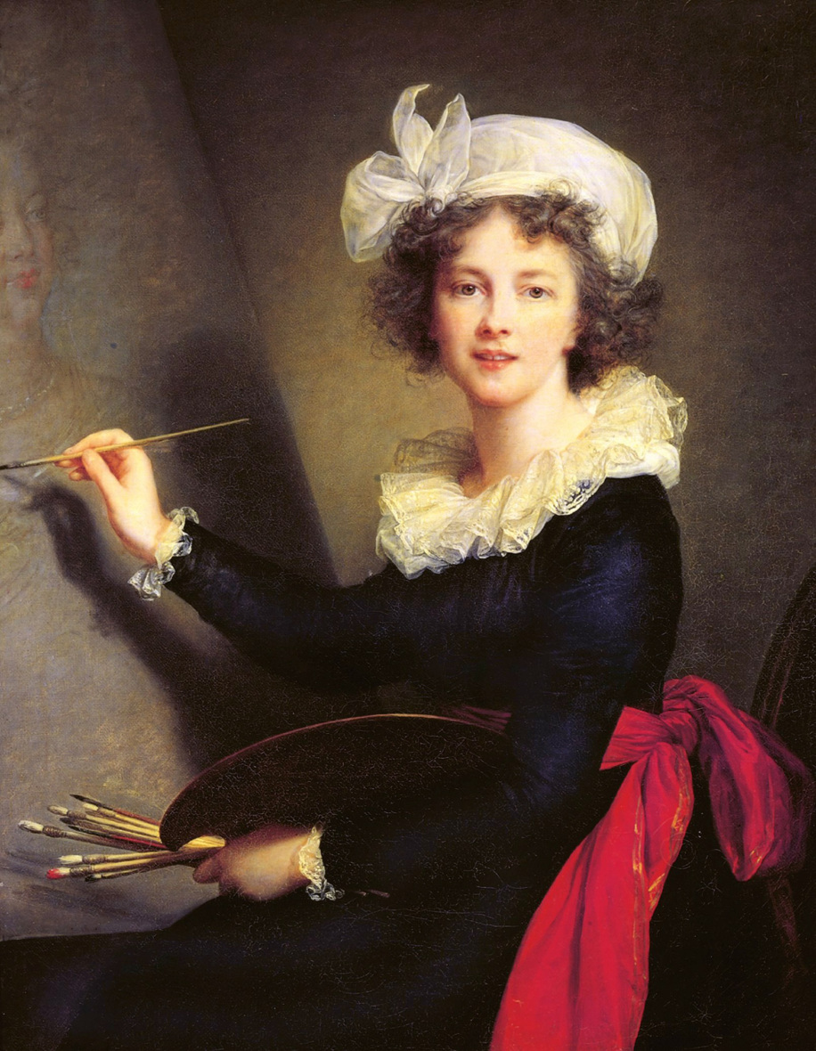 Elisabeth Louise Vigée Le Brun, Self-portrait, 1790, oil on canvas, 39-3/8 x 31-