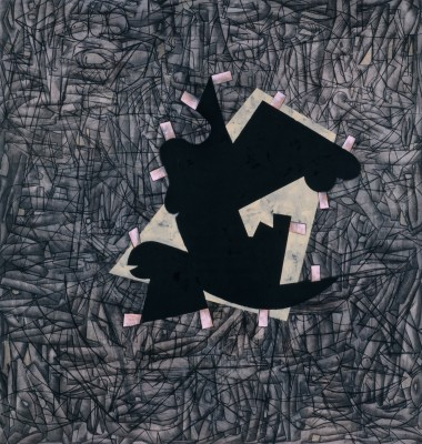 Charline von Heyl, Regretsy, 2009, Acrylic, oil and Charcoal on linen, (© Charli
