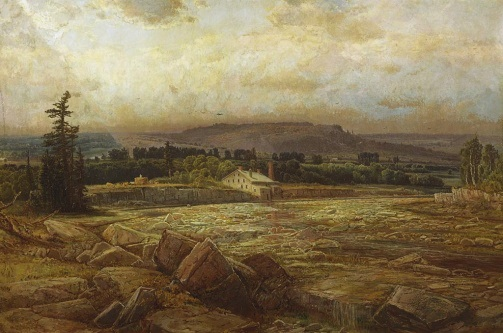 Homer Watson, The Last Day of the Drought, oil on canvas, 92 x 138.5 cm, 1881 (c