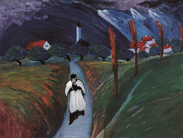 Marianne Werefkin, Corpus Christi, 1911 (Museo comunale d'arte moderne, photo ©