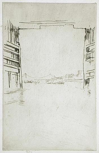 James Abbott McNeill Whistler, Under Old Battersea Bridge, 1876/78, The Julius L
